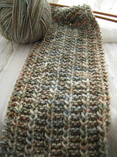 Yarn Harlot One Row Scarf
